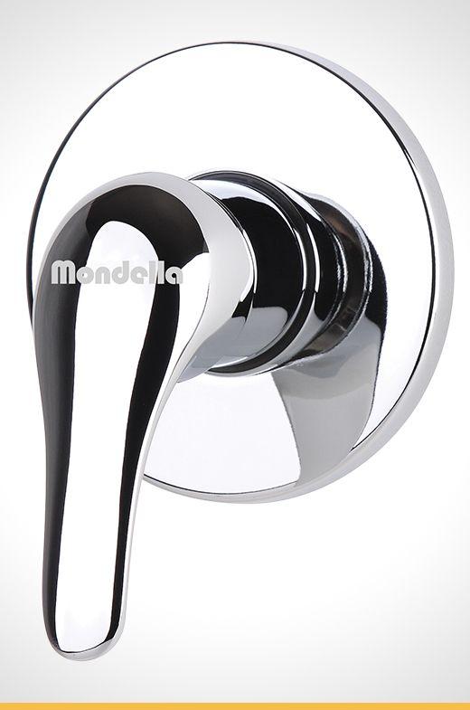Cadenza chrome shower mixer