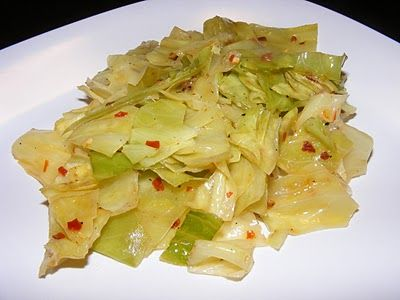 The Recipe Review: Spicy Steamed Cabbage