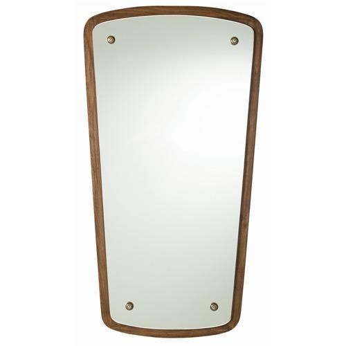 Walnut Finish with Plain Mirror.