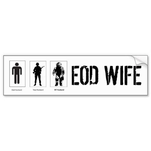Their husband your husband my husband decal eod bumper sticker