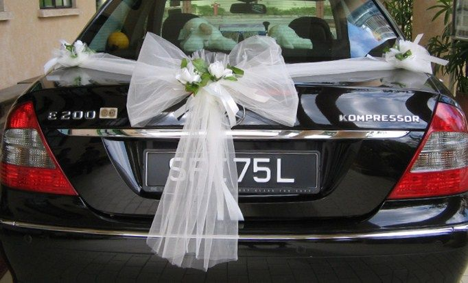 Latest ideas for wedding cars decoration 2015