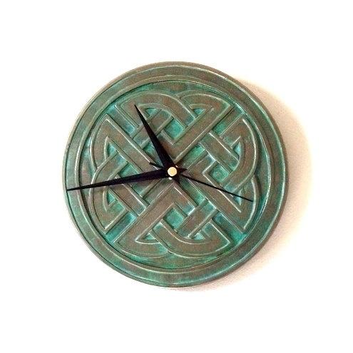 Bronze Celtic Wall Clock by GelertDesign on Etsy, £18.00