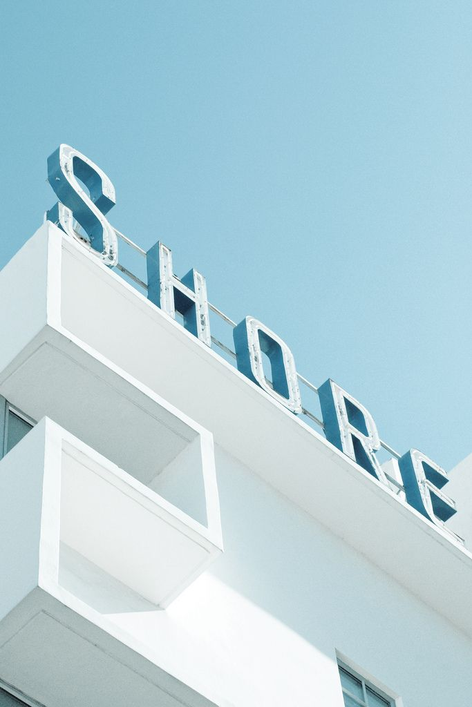 Art Deco Type, Miami Beach