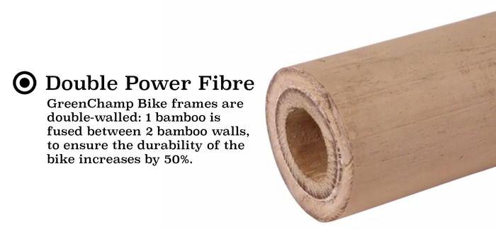 Double power fibre