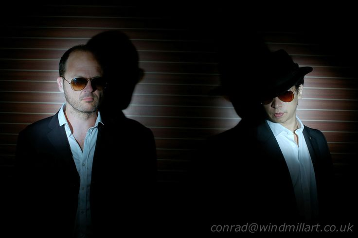 Pluma band portraits by Conrad Webb