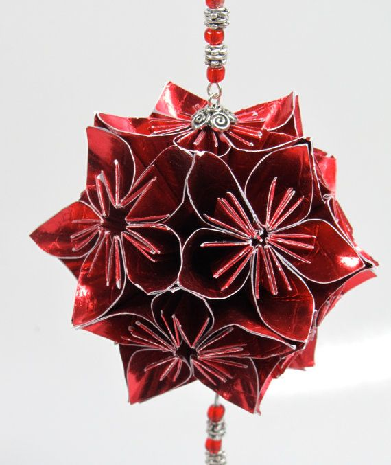 Origami Christmas Decorations: 18 Best Images About Handmade Christmas Decorations On