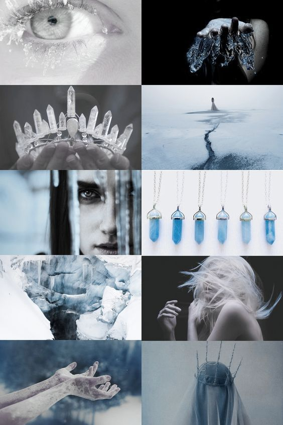Image result for aesthetic ice witch