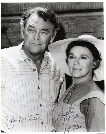 John McIntire & Jeanette Nolan. So awesome seeing them act together, even more awesome because they were married in real life!!! ❤