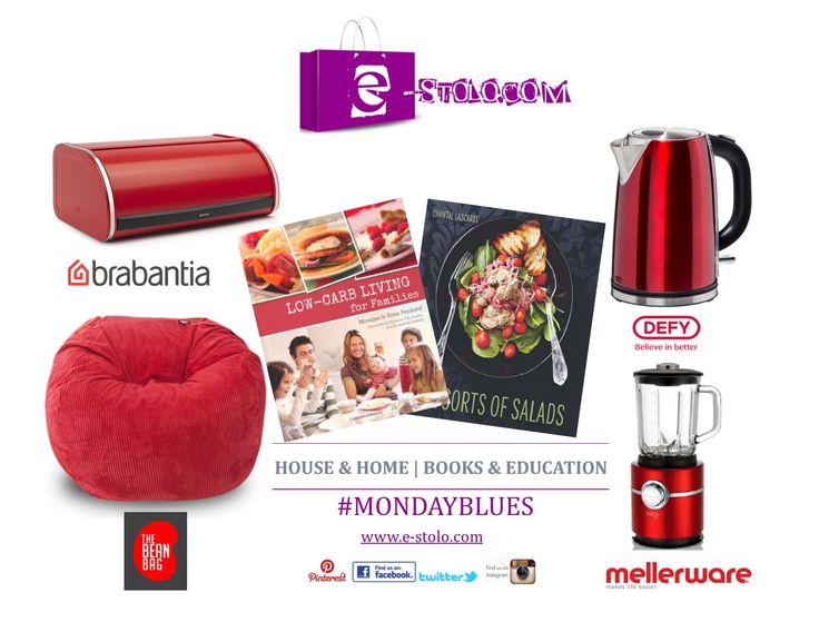 Beat those Monday Blues with these wonderful products available from e-stolo.com #nomoreMondayBlues #MondayBlues #Mellerware #brabantia #thebeanbag #defy #estolodotcom
