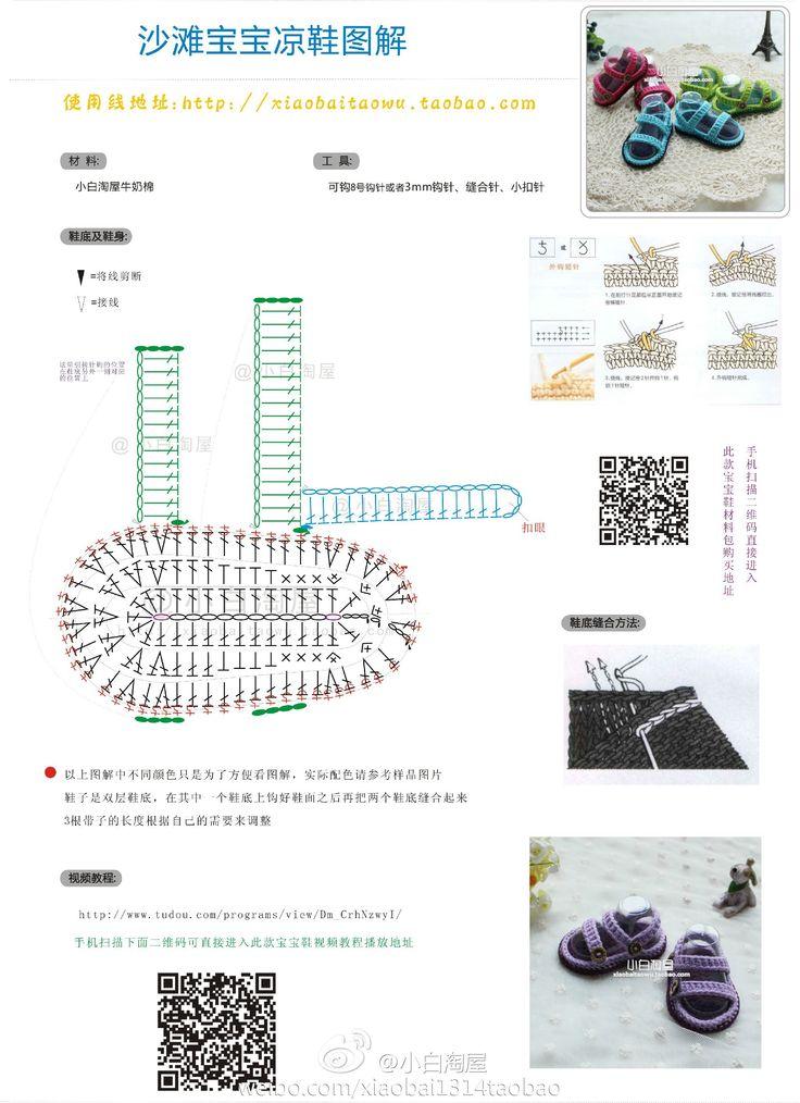 話題:#寶寶鞋 嬰兒鞋鉤法圖解# - iFaceBlog.com