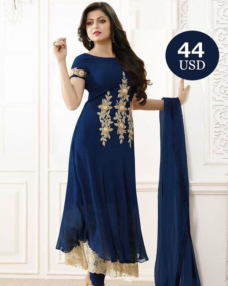 Navy Blue georgette Salwar  Shopping made EASIER with just one click  Click on the link in bio and shop.  Worldwide Delivery|7 day return Policy  Product id- 1481739 Visit m.mirraw.com/insta  Follow us on @mirraw  DM or Whatsapp on 91 8655500479  #anarkali #blueanarkali #salwar #salwarsuit #style #georgette #dupatta #bluesalwar #navyblue #salwarlove #newdesigns #designerwear #ethnic #celebrity #outfits #lovesalwars #instagood #trendy #fashion #desilook #onlineshopping #weloveshopping…