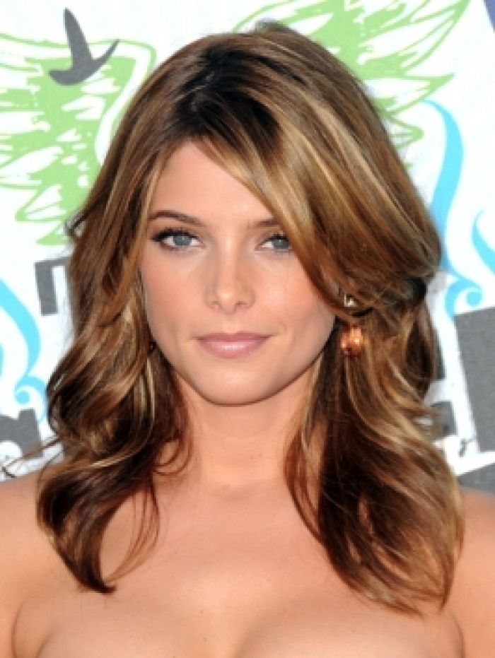 Brown Hair Red Lowlights Blonde Highlights 1 Design ...