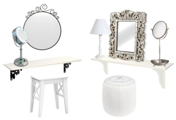10 best toletta dressing table images on pinterest dressing tables makeup vanities and vanities - Toletta con specchio ...