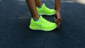 Neon yellow Nike running shoes =my babies I love the #2: d8d22f45a17f62f6f78f97e1a09