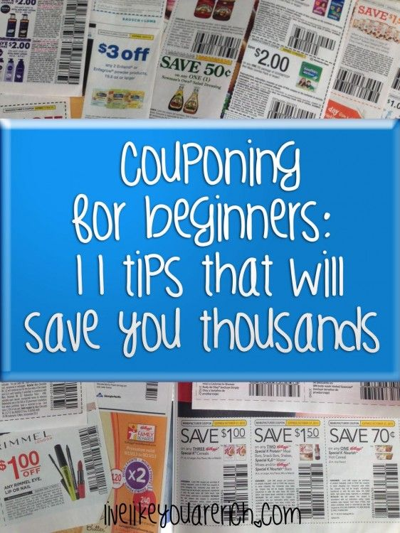 Coupon for beginners