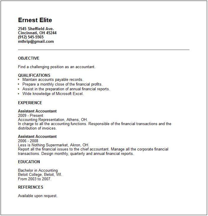 Job Resume Sample - http://www.resumecareer.info/job-resume-sample-8/