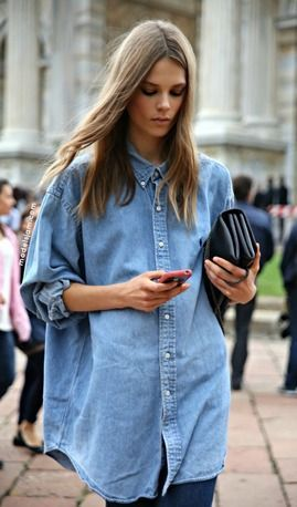 We love the denim shirt trend as they look stylish as part of ANY outfit! If you're unsure of how to wear it, here are some top tips on how to style your denim shirt.