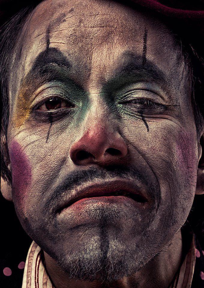Clown Makeup Photography: Daniel Jung   Clown stylist: Roger Fojas