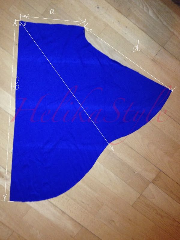 More detailed sewing tutorial you can find here: click me.  Here I represent the most optimal pattern (from my point of view ) for Al-Amira hijab. You will need  jersey fabric – about 70-100 …