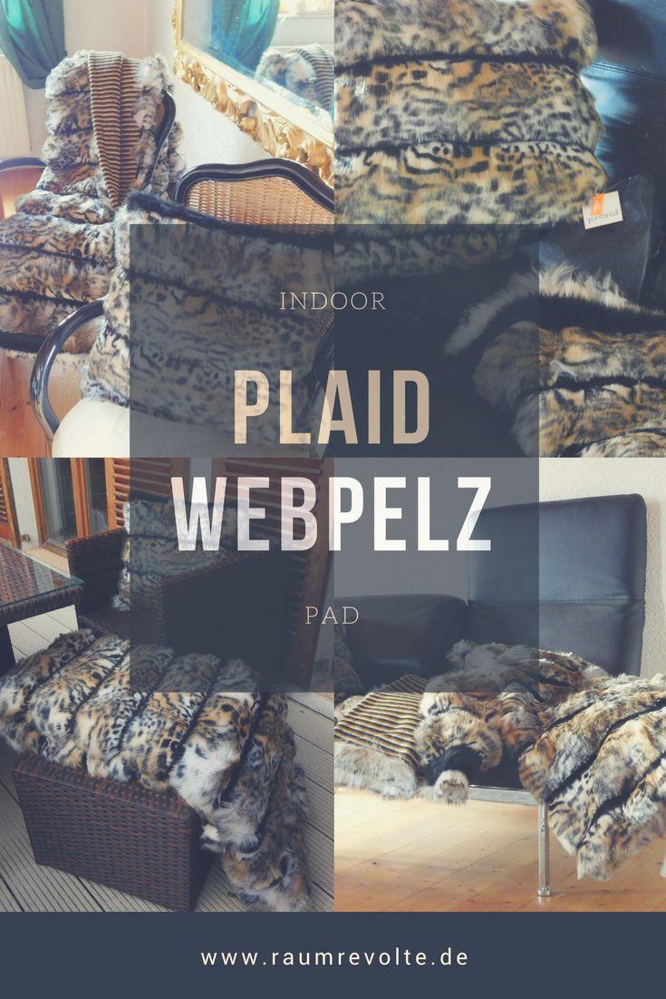 Wildkatzen aufgepasst: Felldecke Colorado von pad aus Webpelz