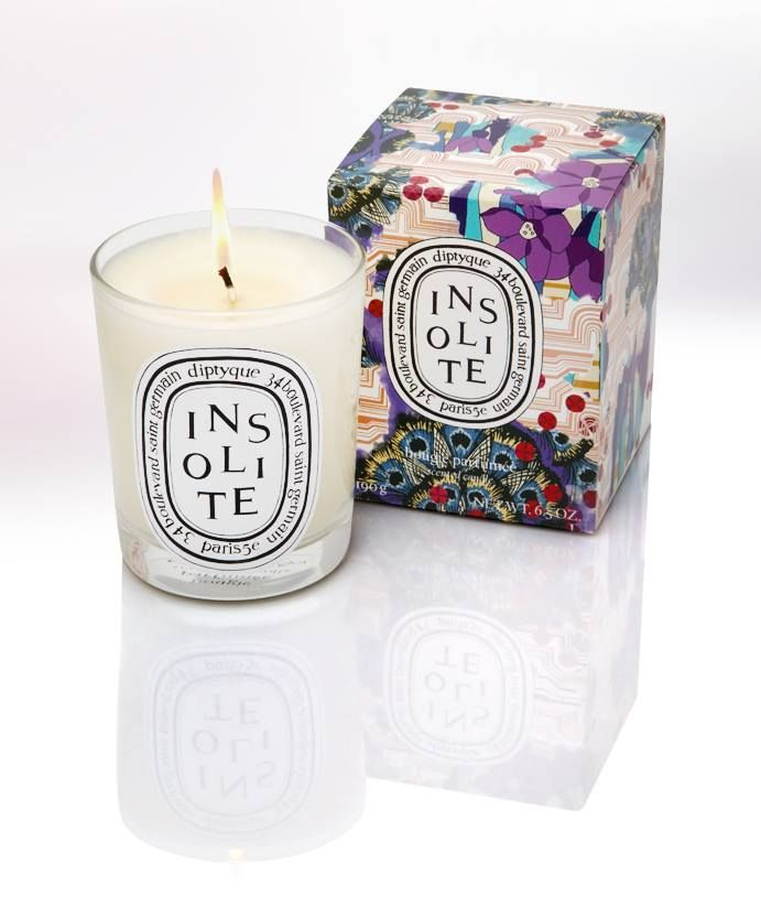 A rich blend of warm and cold spices, leaves and petals, zests and peels our exclusive Diptyque candle will have any home filled with Christmas scents #LibertyChristmas #GiftsForHome