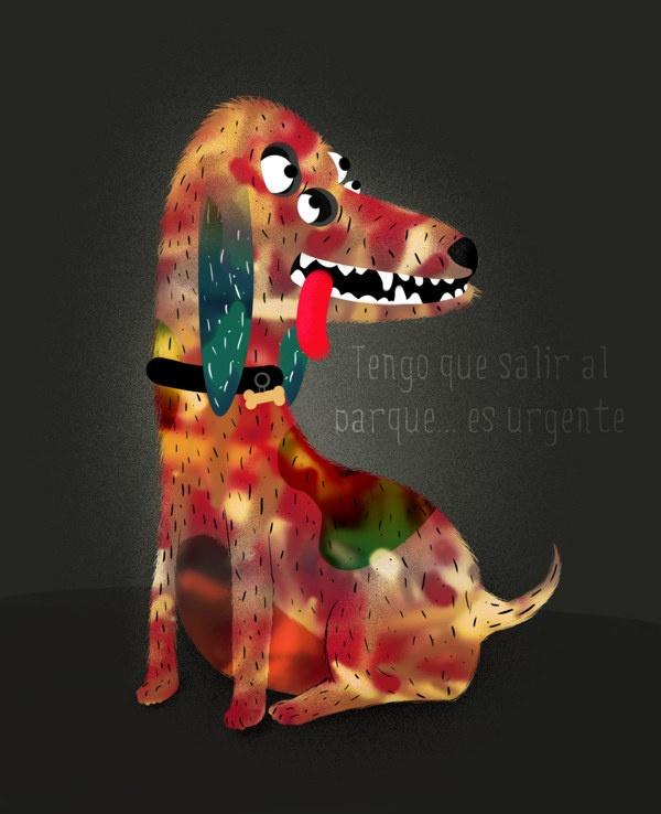 MI perro tiene perro? by Sergio Galán, via Behance