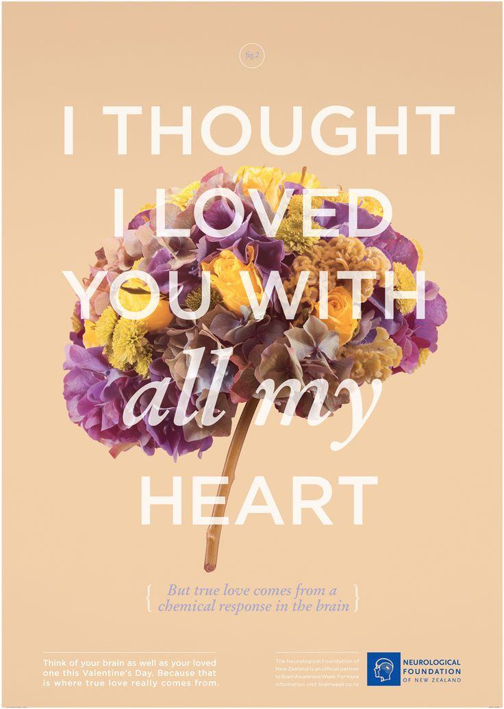 「恋って、気持ちじゃない。」恋愛にメスをいれる神経学財団の広告 | AdGang