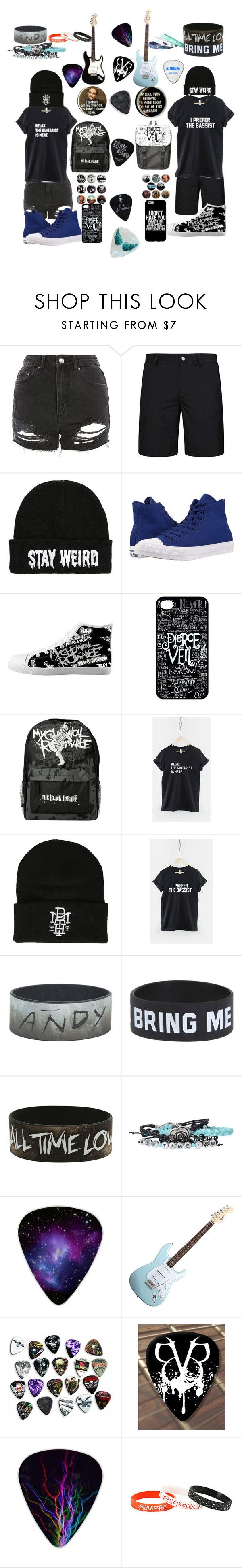 """""""Son and Daughter of Hades Marina and Max"""" by daythedork ❤ liked on Polyvore featuring Topshop, Converse, Hot Topic and Daphne"""