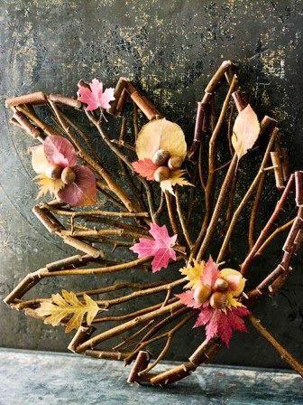 Varázspor: Őszi dekoráció ágakból
