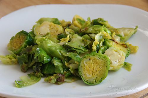 Sauteed Brussels Sprouts | Gluten Free Recipes & Resources | Pinterest