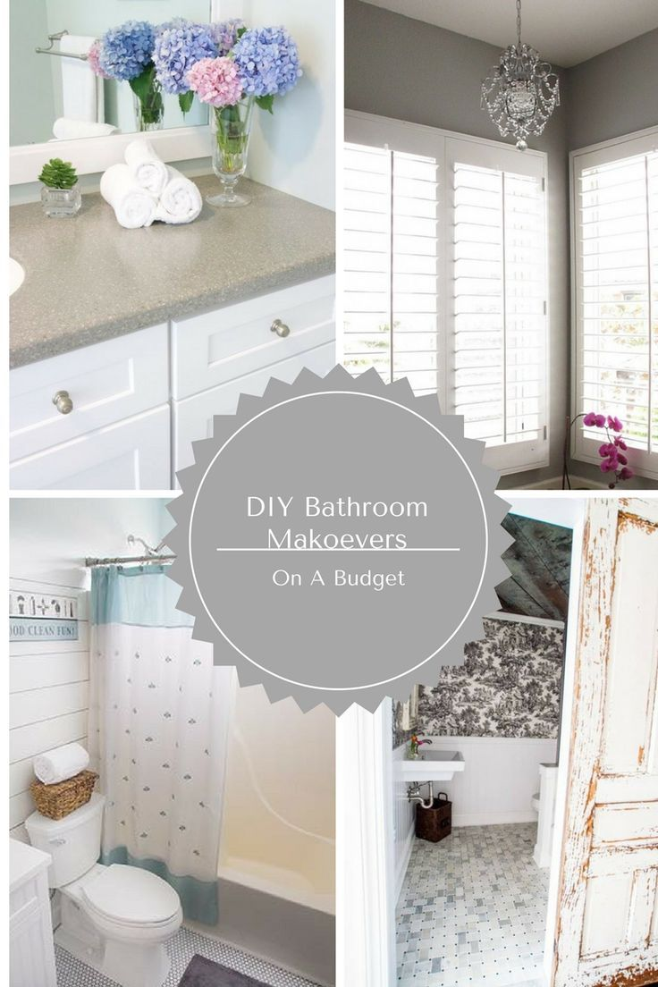 Economical Bathroom Makeovers 342 best bathroom help! images on pinterest | bathroom ideas