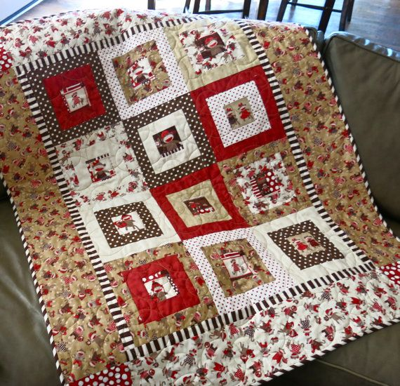 Kid Quilts Sock Monkey Baby And Quilt On Pinterest