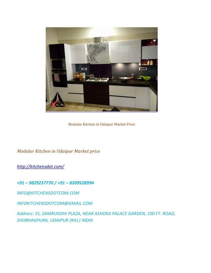 Mejores 27 imágenes de Modular Kitchen Showroom in Udaipur en ...