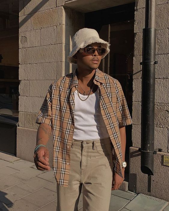Stylish Mens Outfits, Casual Outfits, Men Casual, Summer Outfits Men, Men Summer, Outfits For Men, Simple Outfits, Vintage Outfits, Retro Outfits