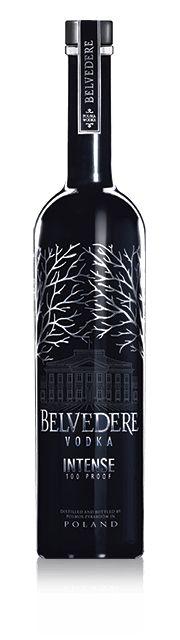 Belvedere Intense 100 proof vodka