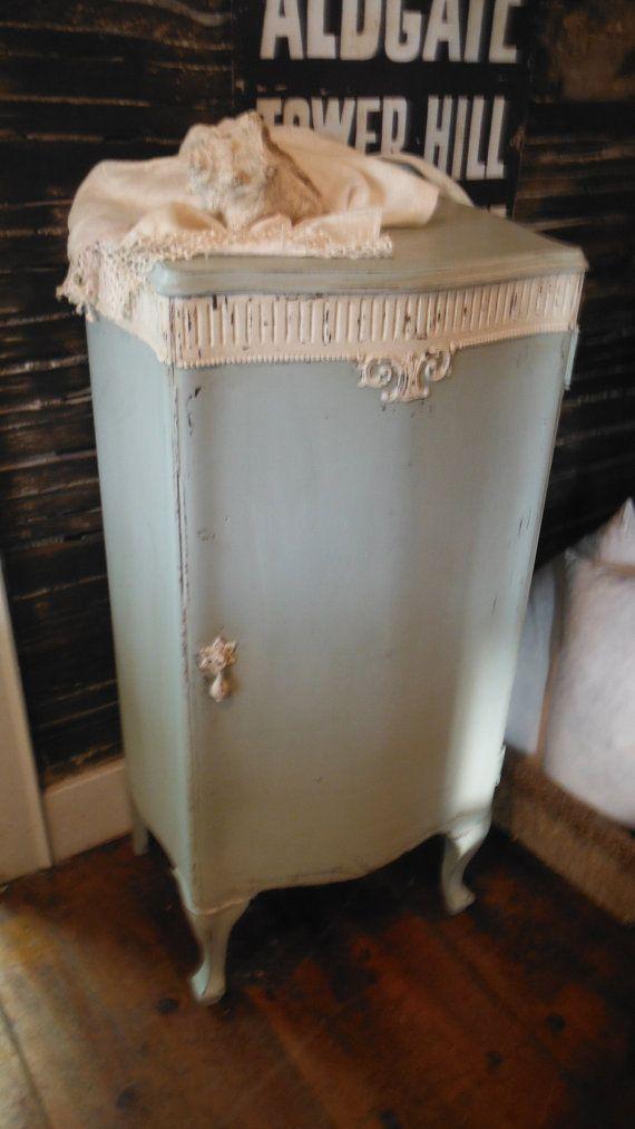 Antique Victorian Storage Cabinet w/shelves by ZoeysUberChicLoft, $149.00