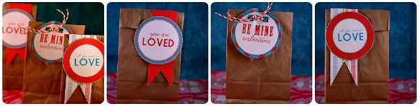 printable valentine bag tags or labels - Today's Creative Blog