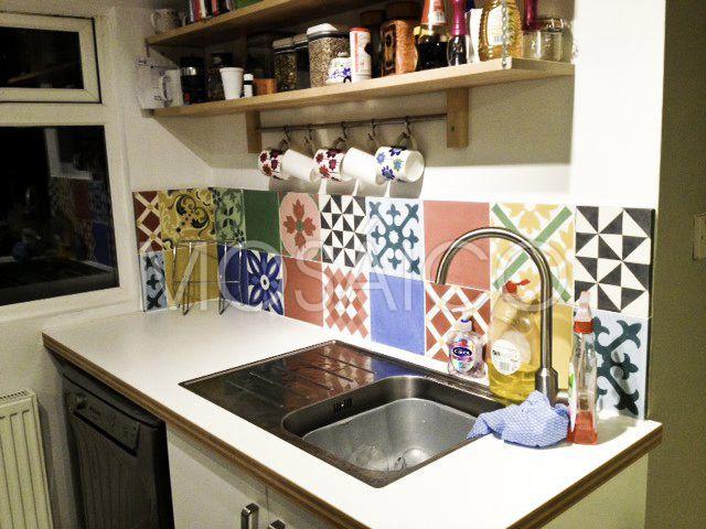 20 besten Articima Zementfliesen Patchwork Bilder auf Pinterest - drahtkörbe für küchenschränke