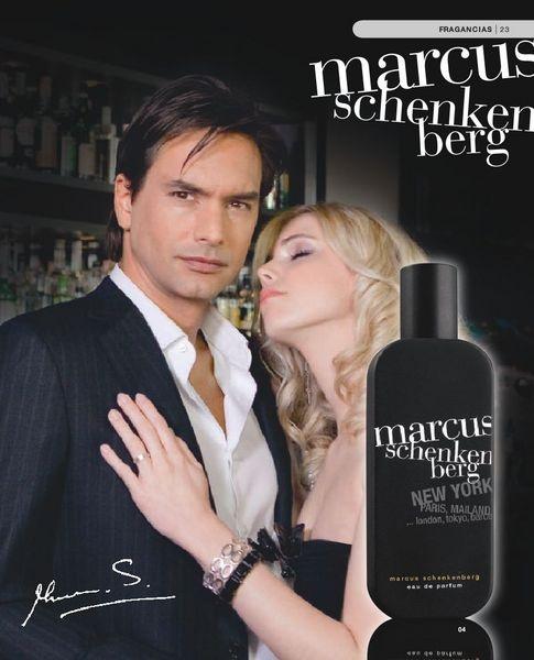 The perfume by designer and supermodel Marcus Schenkenberg