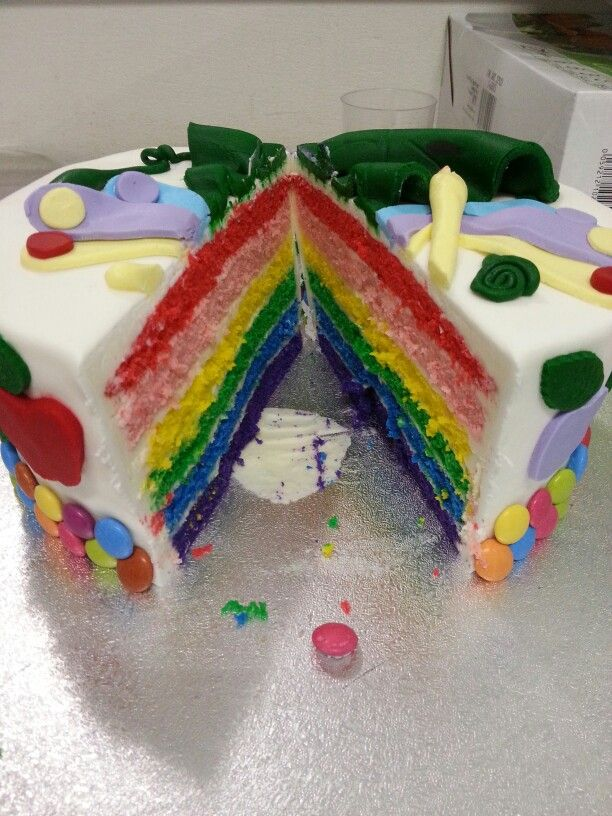 Inside hides a rainbow