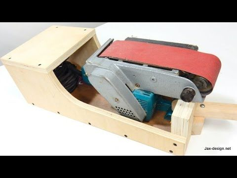 Belt Sander Stand - Can Sit In 3 Positions - YouTube