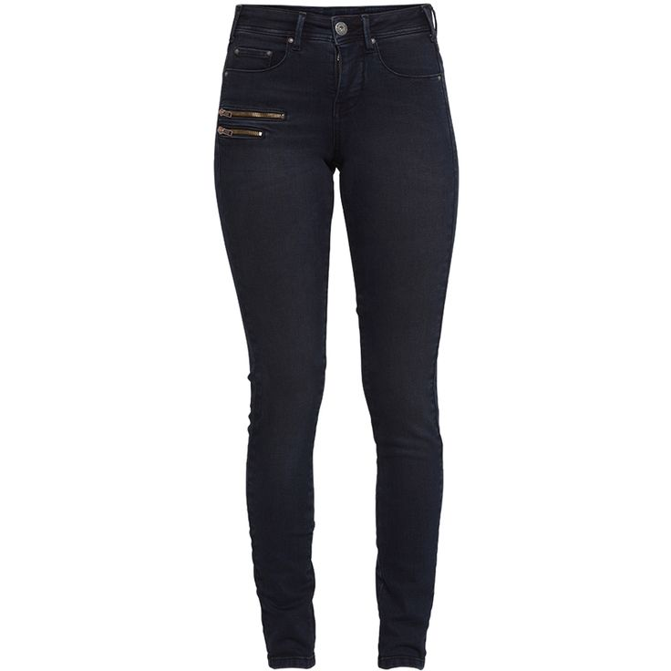 Emerald hw slim zip jeans