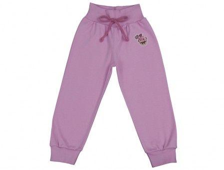 Pantalonaşi cu bandă lată în talie roz iaurt 100% bumbac | Cod produs: NID152
