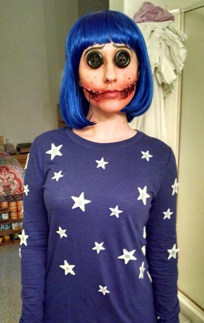 Coraline costume 2015