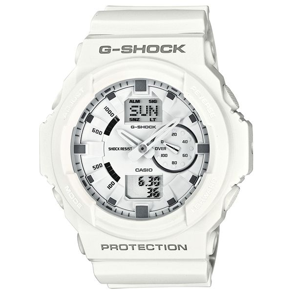 CASIO G-Shock GA-150-7A Orologio da Uomo Analogico-Digitale #casio #gshock #analog #digital #white #wristwatch #fashion