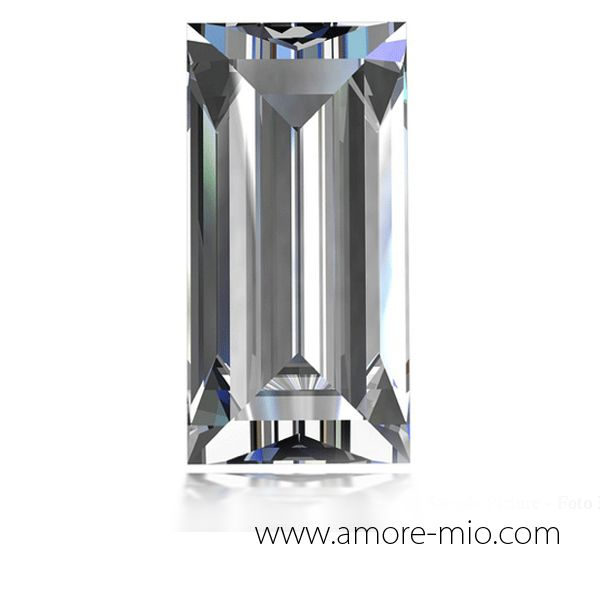 Diamante corte baguette