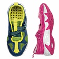 Kids Sport Shoes, Baby & Toddler Swim Shoes, Kids Water Shoes... Shoes are great for theme parks. Amphibious shoes good for water or land and dry fast!!  They aren't super durable but will get you through a season of good hard wearing.