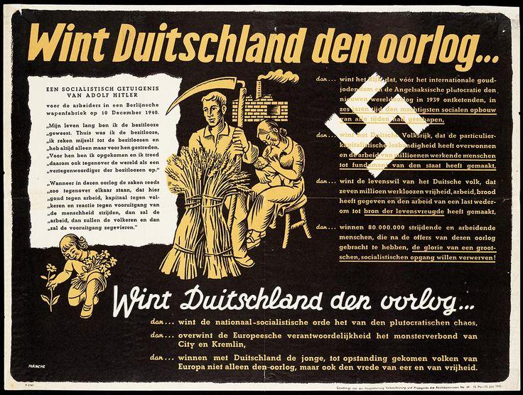 Wint Duitschland den oorlog... dan... wint het rijk, dat, vóór het internationale goudjodendom en de Angelsaksische plutocratie den nieuwen wereldoorlog in 1939 ontketenden, in zes jaren tijd den machtigsten socialen opbouw van alle tijden had geschapen.