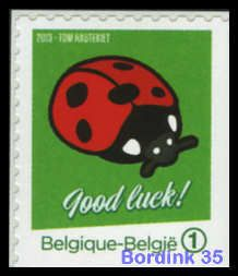 Good Luck! - Ladybird - Happiness stamps