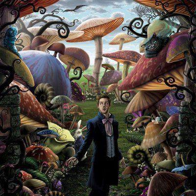 magic mushroom art - photo #36